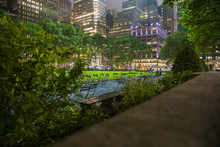 Bryant Park New York In The  N...