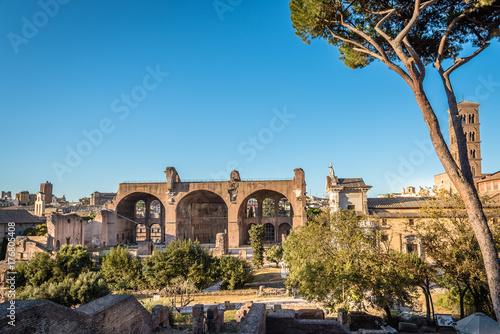 Zdjęcie XXL Widok na Forum Rzymu