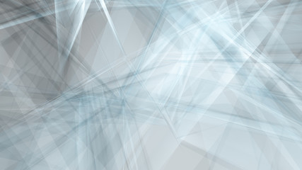 Connected shapes chaos technology backgrounds