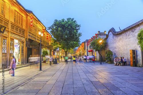 Fotografie, Tablou  Fuzhou Street