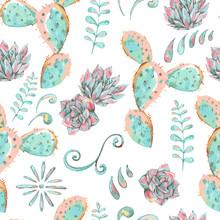 Exotic Natural Vintage Seamless Pattern