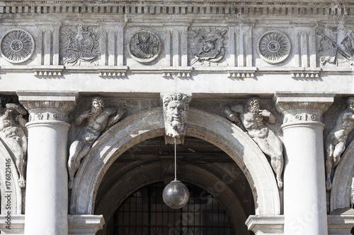 Plakat Biblioteka Narodowa św. Marka (Biblioteca Marciana), fasada, Wenecja, Włochy