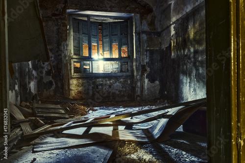 dark asylum Canvas Print