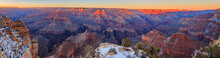 Panorama Vom Grand Canyon Süd...