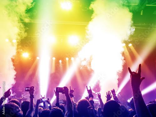Plakat Kolorowy koncert