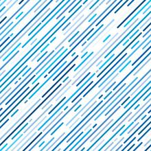 Blue Diagonal Stripe Background, Line Design, Seamless Pattern, Vector Illustration