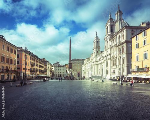Deurstickers Krakau Piazza Navona, Rome. Italy