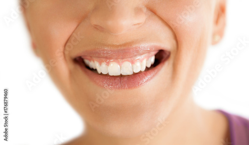 smile with healthy teeth #176879460