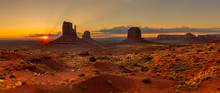 Sunrise Over Monument Valley P...