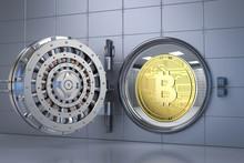 Bitcoin In Bank Vault