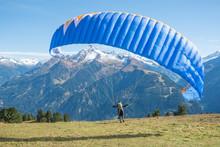 Paraglider Beim Start, Zillert...