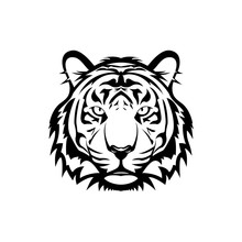 Vector Tiger Head, Face  For R...