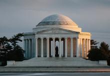 United States Jefferson Memorial Building In Washington, DC