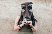 Mamuthones' Mask