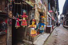 Marionette In The Ancient City Bhaktapur,Nepal
