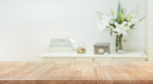 Real Wood Table Top Texture On...