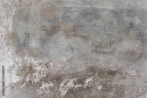 Poster Beton Rustic scrtached concrete wall texture background