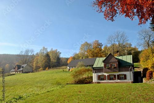 Plakat Wieś w Sudetach