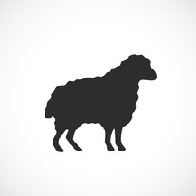 Sheep Vector Icon