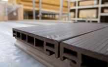 Plastic Terrace Board Lies On ...