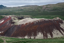 The Old Crater Of The Volcano ...
