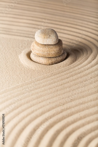 Canvas Prints Stones in Sand Sand.