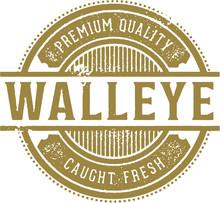Fresh Walleye Stamp