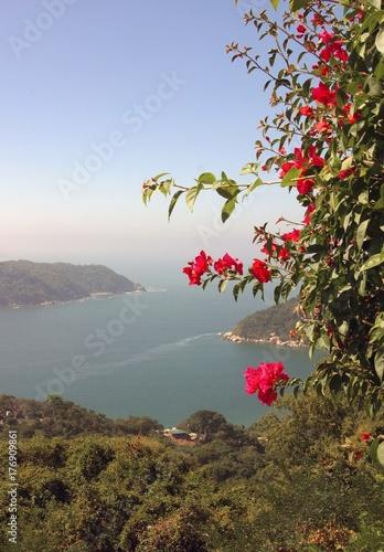 Valokuvatapetti Coast of Acapulco Mexico