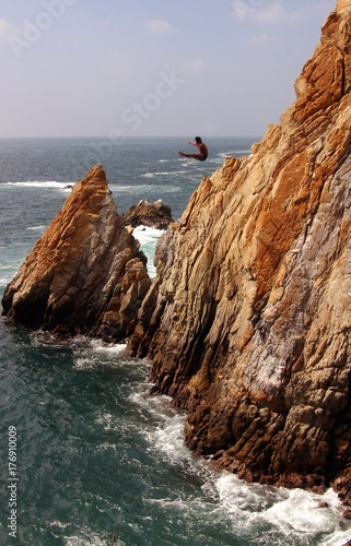 Fotografija  Acapulco coast. Divers