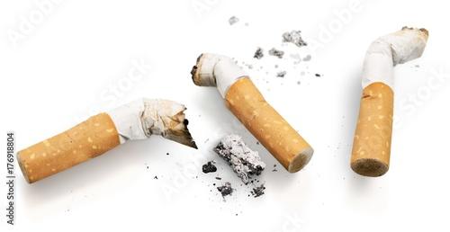 Fotografie, Tablou  Cigarette butt.