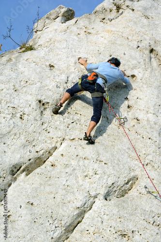 Foto op Canvas Alpinisme Wspinaczka górska, Jura Krakowsko Częstochowska
