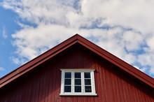 Facade Of A Norwegian Farm