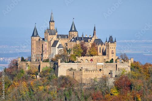Fototapeta Zamek Hohenzollernów
