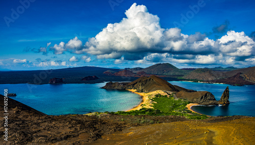 Photo Stands South America Country bartolome island in galapagos