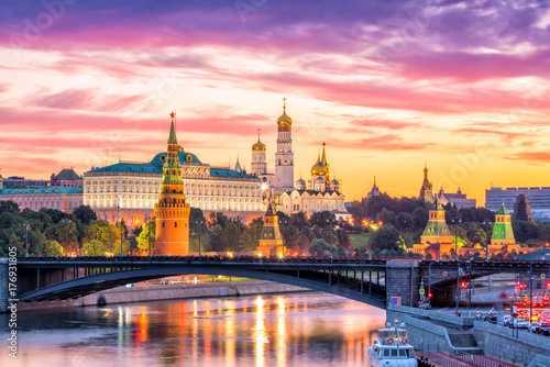 Canvas Prints Asian Famous Place Moscow Kremlin