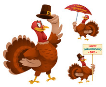 Happy Thanksgiving Day With Fu...