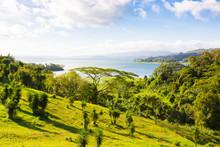Costa Rica Panorama Coastline ...