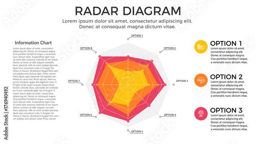 Photo  Radial Diagram Infographic Element