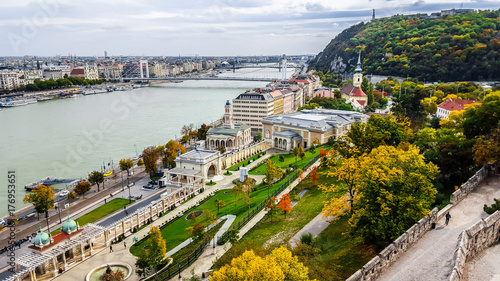 Panoramic view of Budapest. Hungary.  © sforzza