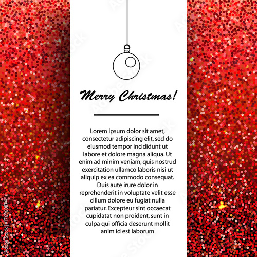 New year and christmas banner design template seasonal winter new year and christmas banner design template seasonal winter holidays greetings on red glittering background m4hsunfo