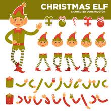 Christmas Elf Character Constr...