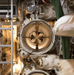 Control of torpedo tubes on a submarine