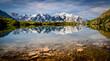 Leinwandbild Motiv La Blanc, Chamonix-Mont Blanc