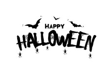 Happy Halloween. Vector Illust...