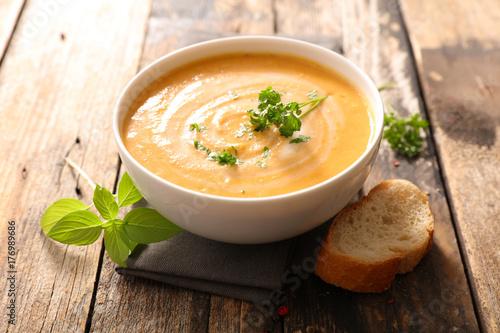Leinwand Poster vegetable soup