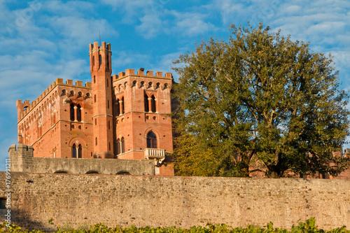 Plakat Chianti zamku Brolio