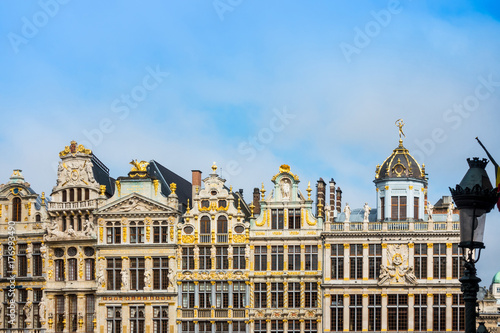 Royal Palace of Brussels - landmark of Brussels, Belgium Poster