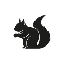 Squirrel Simple Icon