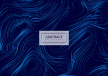 Abstract Artistic Blue Backgro...