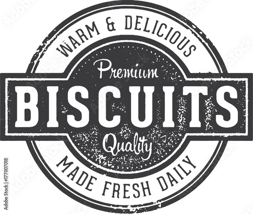 Fresh Baked Biscuits Sign Wallpaper Mural